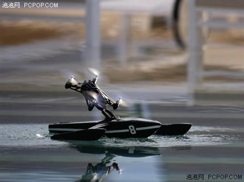 续航是问题 无人机具备水陆两栖能力
