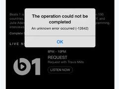 外媒报道Beats 1首发日突然掉线半小时