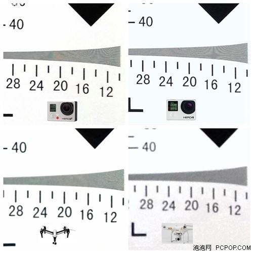 航拍摄像头哪家强?镜头分辨率横评