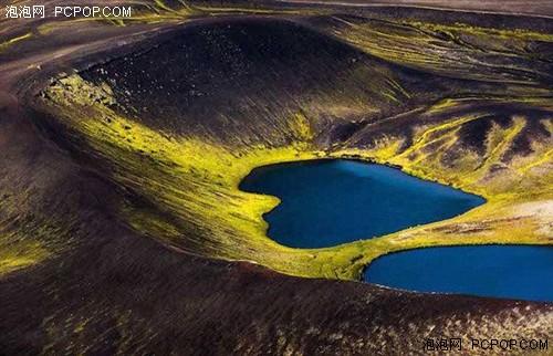 航拍冰岛秀丽山川 飞手呼吁保护自然
