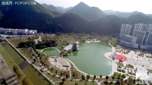 杭州千岛湖航拍实景