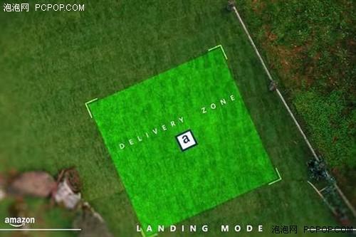亚马逊送货无人机着陆:需要一块垫子