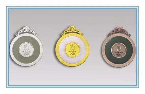 2008年北京奥运会奖牌高清图片