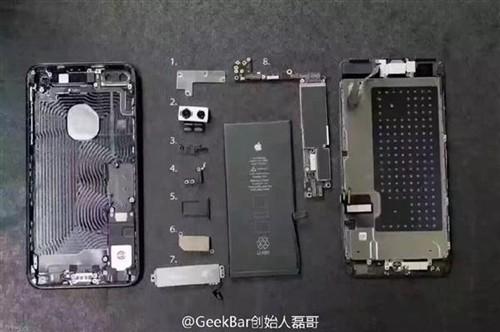 iPhone 7 Plus全球首拆!双摄像头长这样