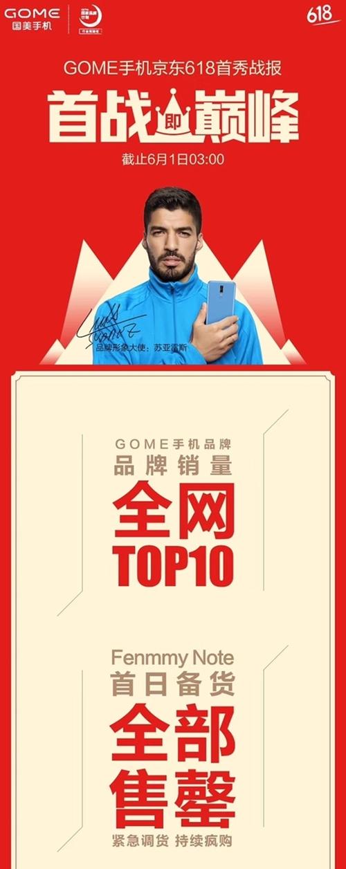 国美Fenmmy Note开售告捷 助国美手机跻身TOP 10
