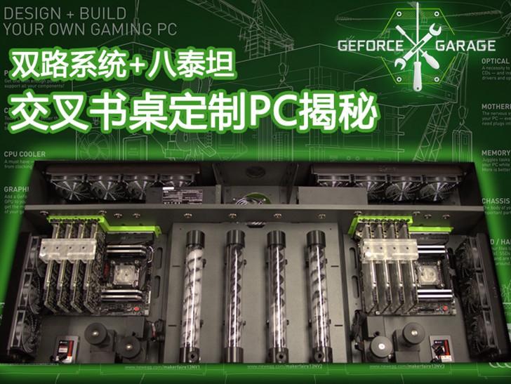 双路系统+八泰坦 交叉书桌定制PC揭秘