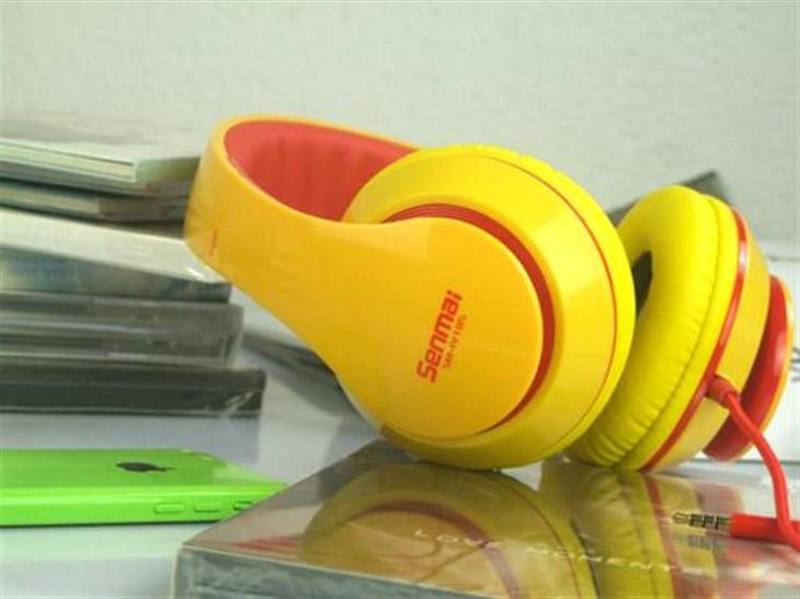 我为你而来森麦SM-IV185手机音乐耳机