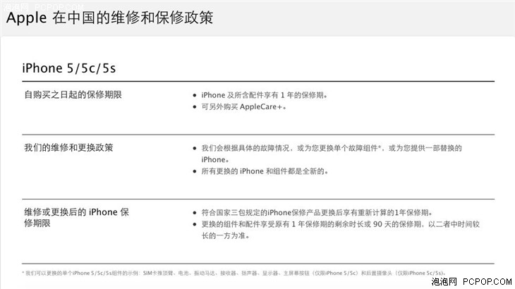 港版iPhone国内不再提供保修系谣传