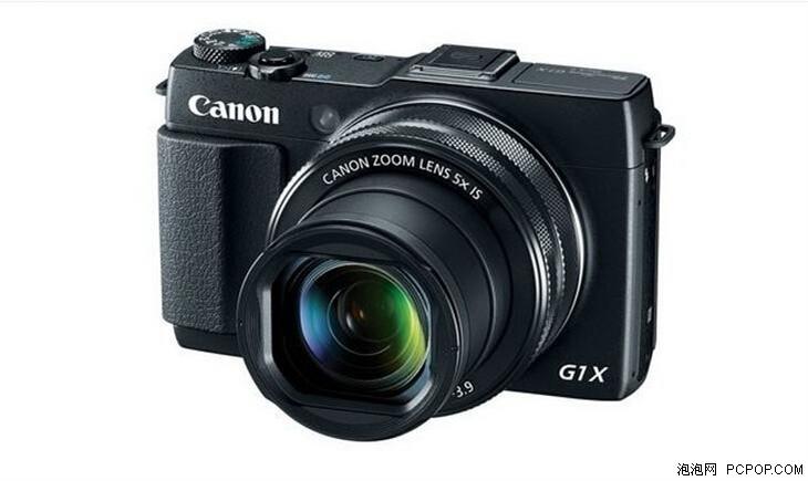 小巧方便照相机 佳能g1x ii现仅售4799