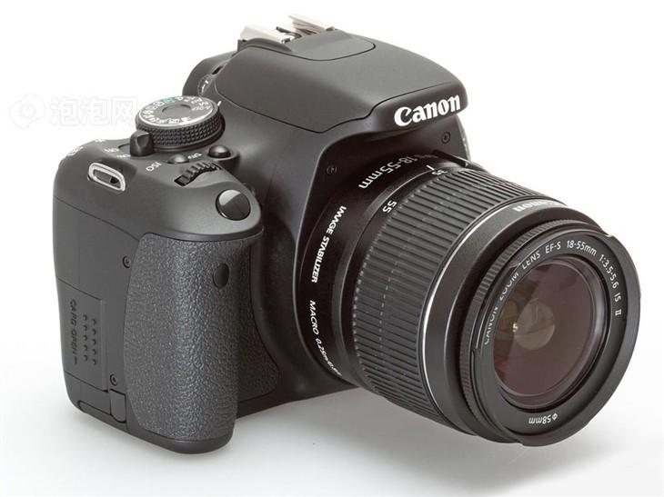 入门级单反相机 佳能600D套机促销中