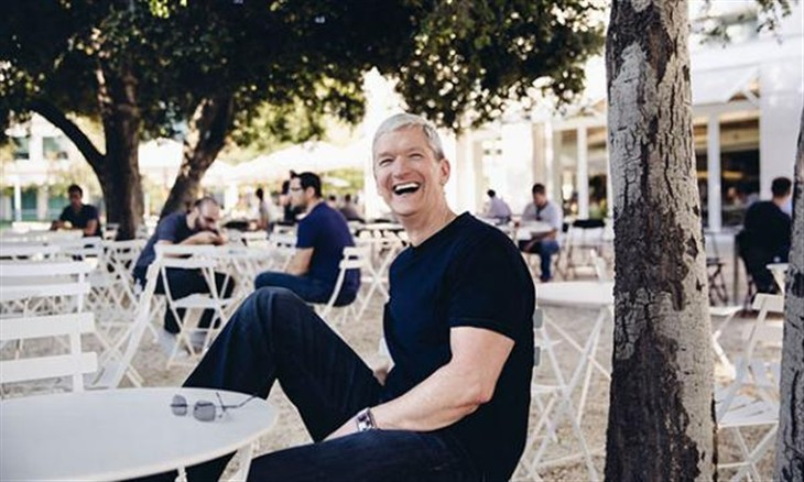 CNN评选蒂姆库克为2014年年度最佳CEO