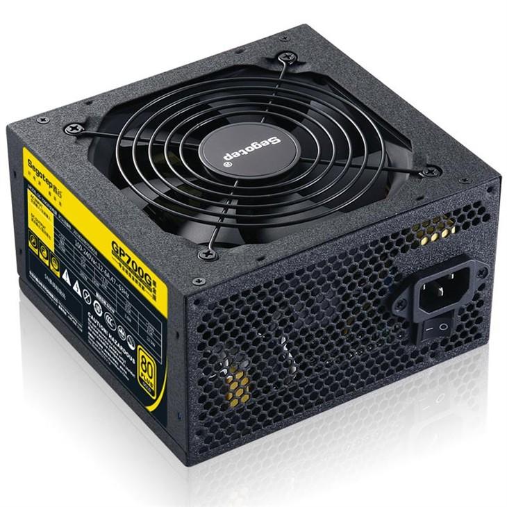 鑫谷GP700G黑金版 金牌电源仅为399元