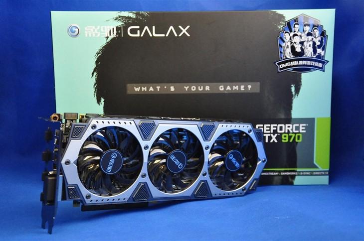 强悍性能影驰GTX970骨灰黑将仅2699元