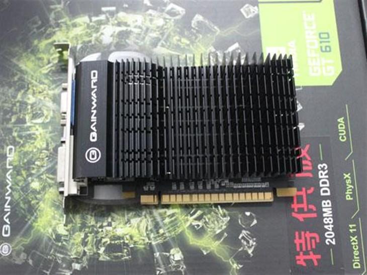 耕升NVIDIA GT610特供版显卡 仅299元