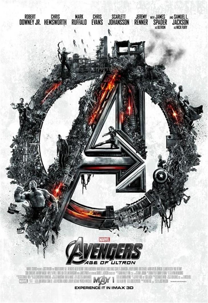 《复仇者联盟2》最新海报出炉:超酷!