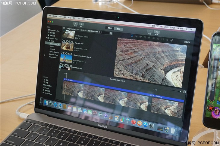 依然够逼格 苹果新MacBook现场上手试玩