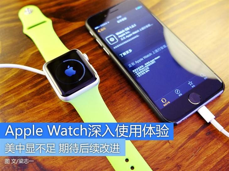 Apple Watch深入使用体验 美中显不足