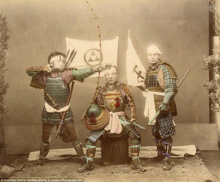 最早彩色照片 日本幕府时代妓女的日常_数码相
