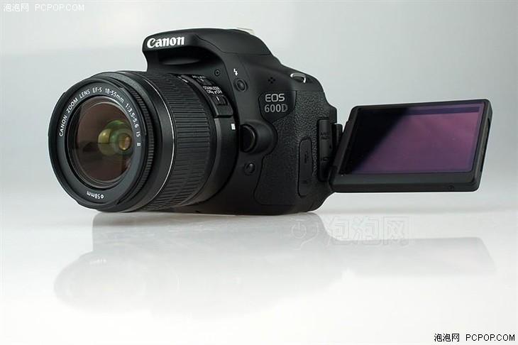旋转屏入门单反相机 佳能600D价格便宜