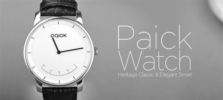 Paick Watch和你 一起拥有更健康生活