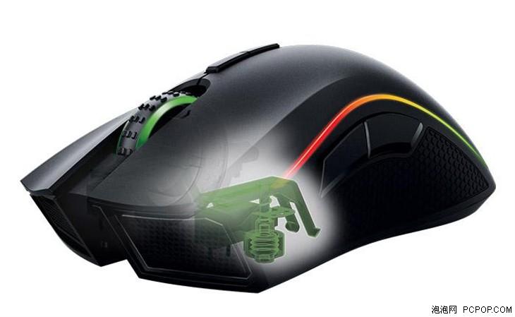 雷蛇发布新曼巴眼镜蛇鼠标按键力度可调