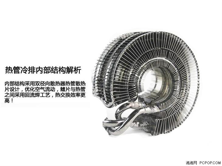 热管代替冷排:英斐i300T一体水冷评测