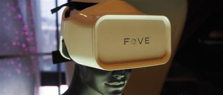 虚拟现实化 三星投资FOVE眼球追踪VR头盔