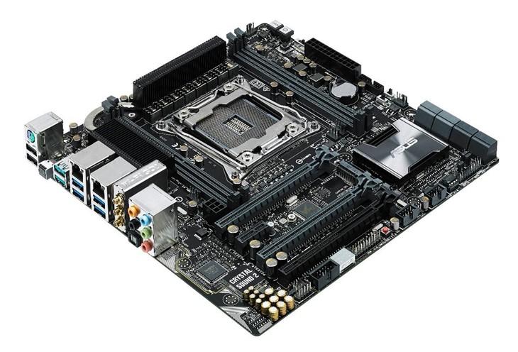 最强mATX主板 华硕发布X99-M WS主板