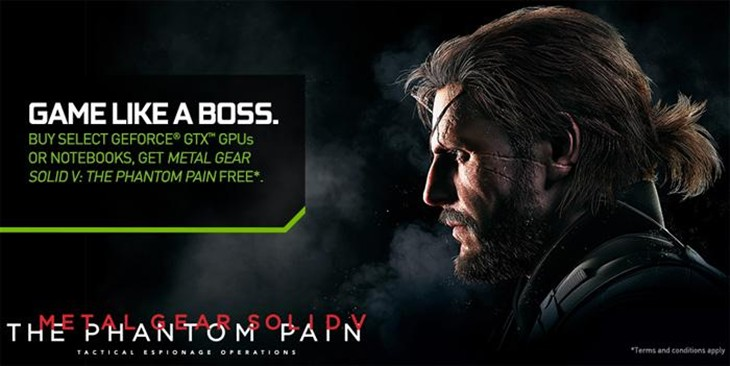 NVIDIA宣布新捆绑游戏《合金装备5》