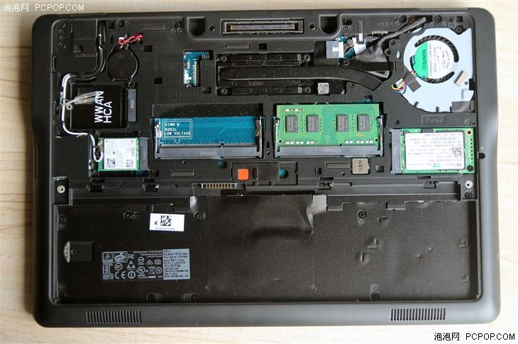 笔记本 评测 正文    e7250搭载了一块来自海力士的128gb固态硬盘