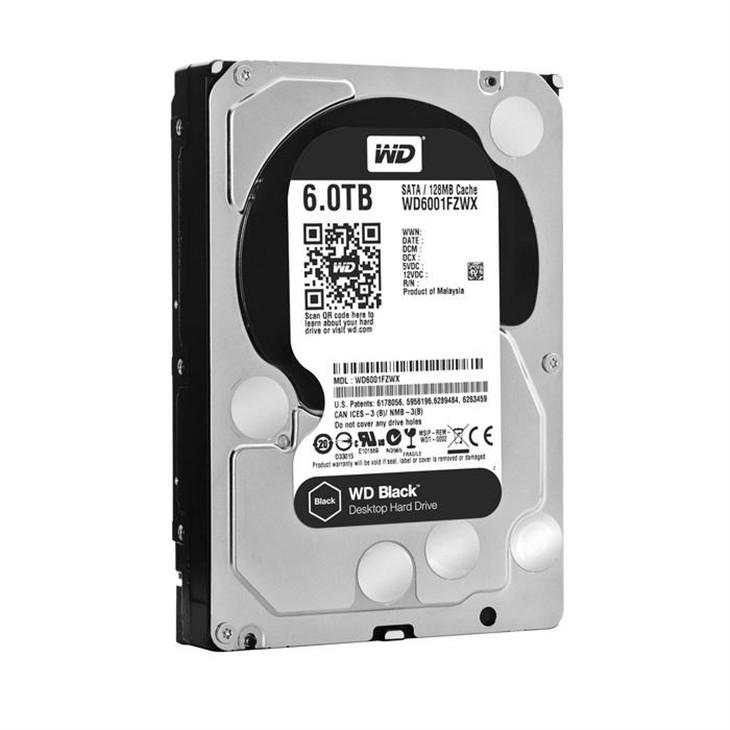 西数发布6TB容量的黑盘:性能提升10%