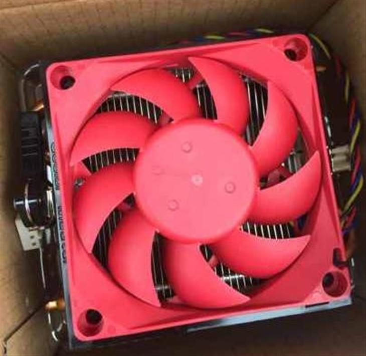 安全度秋 速龙860K热管散热器显心意