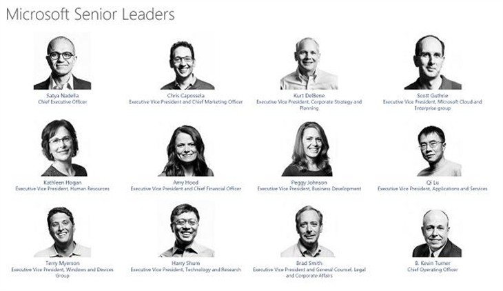 新闻 正文    第二次内部组织结构发生在最近,萨提亚·纳德拉希望微软