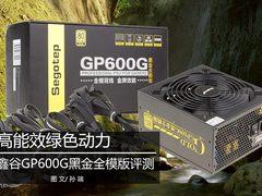 额定500W 鑫谷GP600G黑金全模版评测!