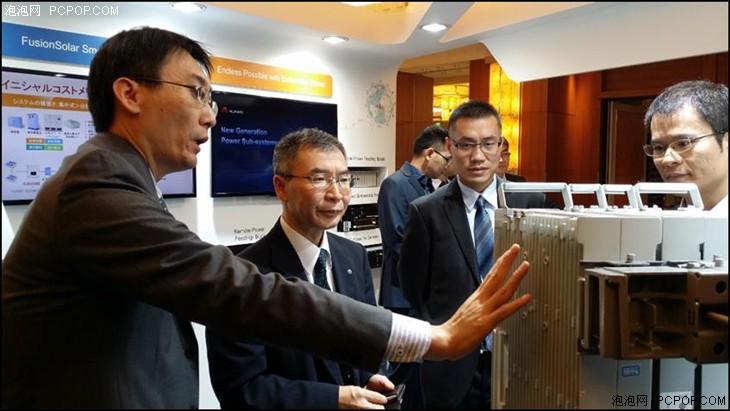 华为亮相2015全球通信能源峰会显实力