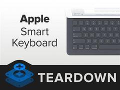 1288元!iPad Pro键盘拆解:可以扔了