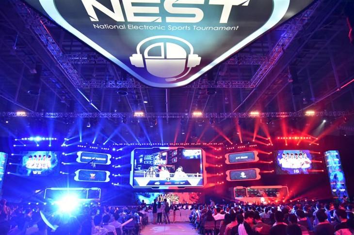 nest全国电子竞技 宁美国度大放异彩!