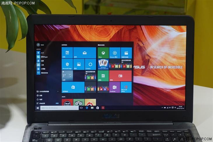 华硕笔记本屏幕�9l#_大屏性价比新选择 华硕a556笔记本评测
