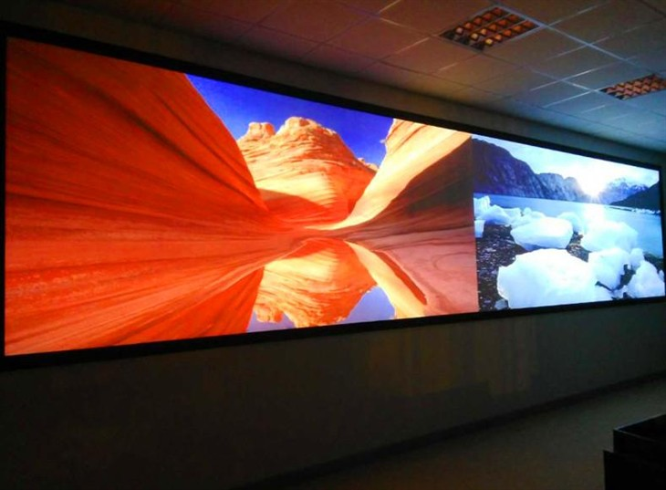 光峰高端激光工程投影机南京军区案例