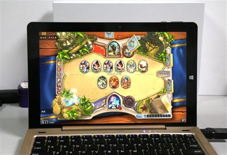 热门游戏!昂达oBook10五款游戏实测