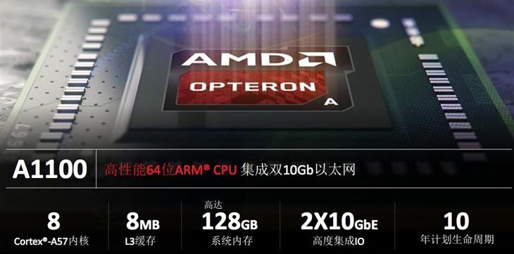 64位ARM架构 AMD皓龙A1100新平台解析