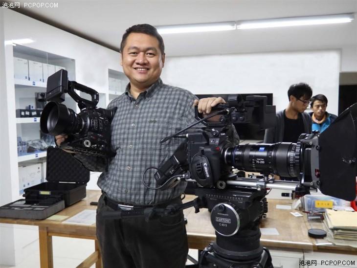 影视专家邹吉亮谈佳能C300 II的应用