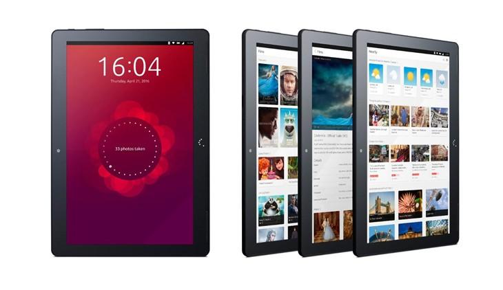Canonical展示可变身PC的Ubuntu平板!