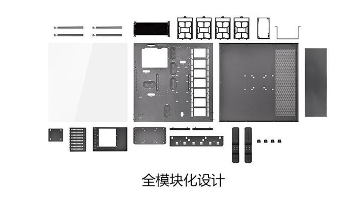 全模组化设计 Tt Core P5多样化创意组合