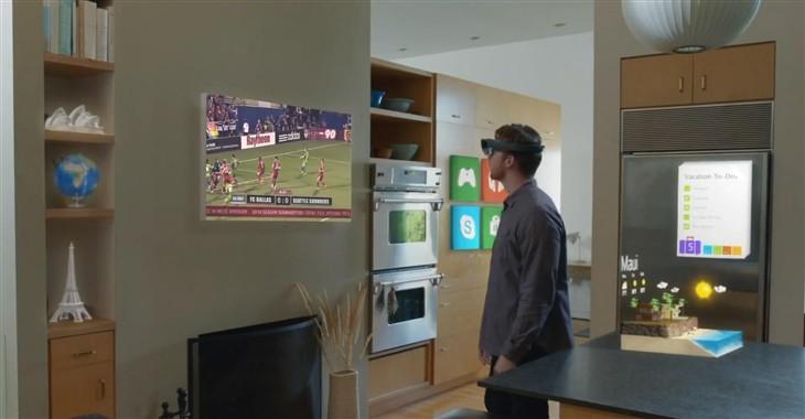 体验吊炸天 HoloLens首批游戏应用曝光