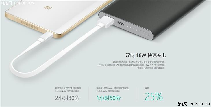 新小米移动电源开售 Type-C快充149元