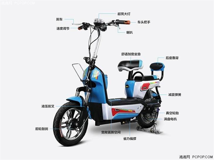 台铃48v锂电池电动车1500元图片