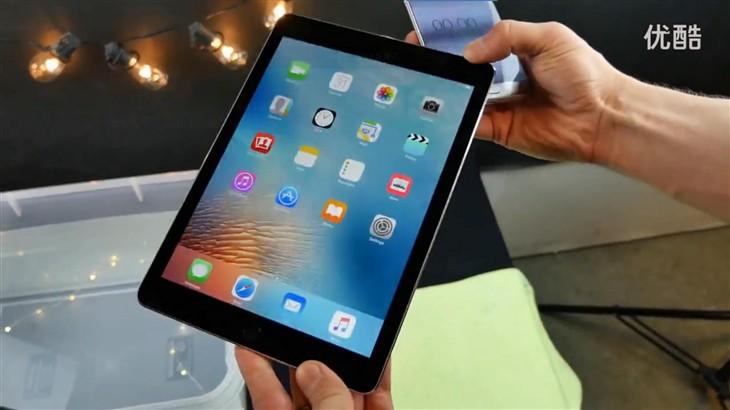 全新9.7英寸iPad Pro平板防水浸泡测试