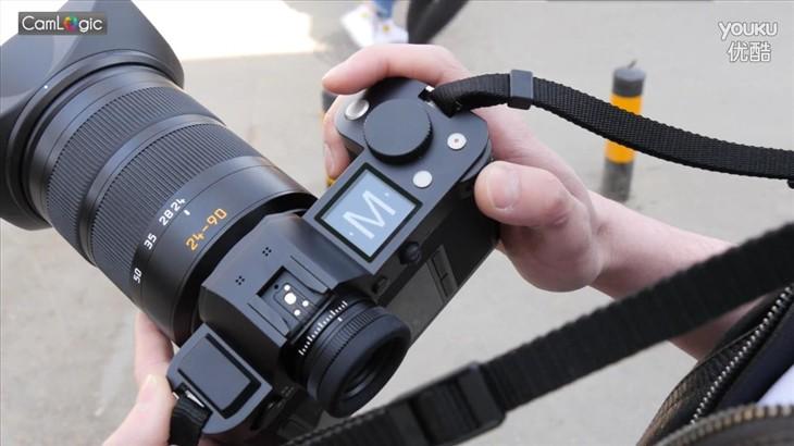 相机逻辑:最大最贵的全幅无反徕卡SL