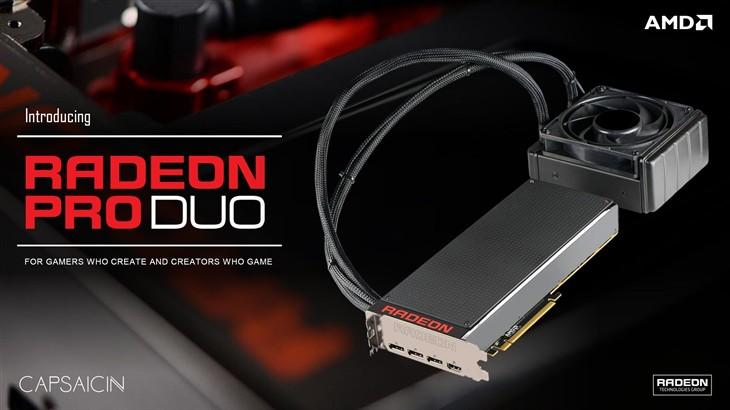 萬元雙芯卡皇!AMD Radeon Pro Duo開箱_AMD顯示卡推薦品牌2017,香港交友討論區